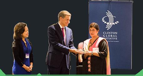 Clinton Foundation Award Ceremony